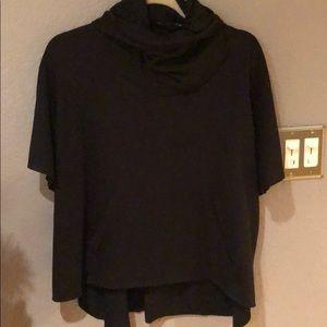 Zara poncho style sweater- like new